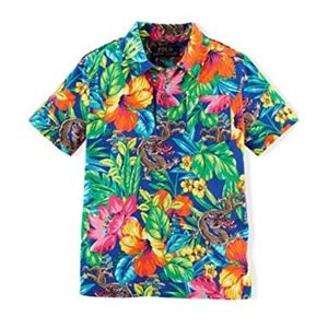 Polo Ralph Lauren Little Boys' Hawaiian Polo Shirt